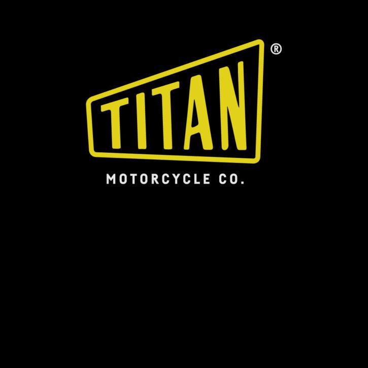 Cafe Racer TITAN Logo T-Shirt Motorcycles tees shirt Biker t-shirt Riding design künstler design online bestellen vintage tshirt spruch motorrad Vegan Bio Fair Trade Shirt Männer Frauen