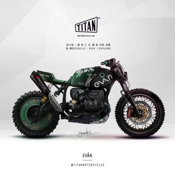 SHENFU Art of Custom Bike TITAN Motorrad Umbau Cafe Racer Graz Mein Motorrad Umbau Preis Siebenhofer Bike