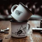 TITAN-Emaille-Becher-Tasse-Motorrad-Abenteuer-Outdoor-Küche-Haushalt-Kaffee-Camping-Geschenk-Caferacer-Enamel-Mug_002