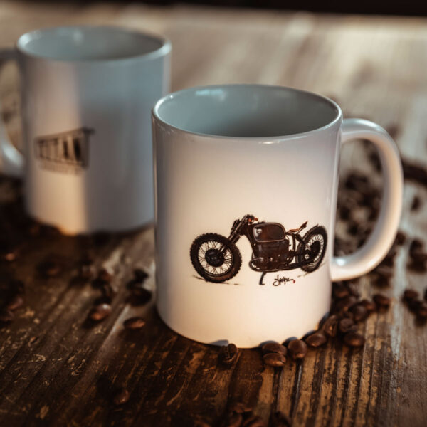 TITAN-Kaffee-Tasse-Haeferl-Motorrad-Cup-Kueche-Haushalt-Kaffee-Geschenk-Caferacer-Mug-Espresso-Latte-Becher_081