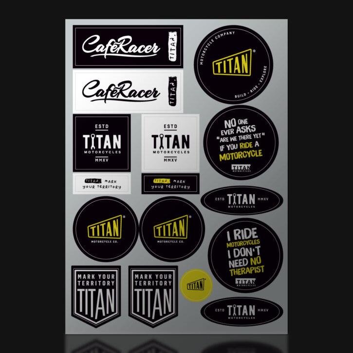 TITAN-Motorcycle-Motorrad-Postkarte-Motiv-DIN-A6-Ansichtskarte-Motorbike_Arkitekt_Goodie-Deko-Garage-Wohnzimmer-Goodie-Set